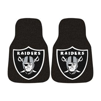 FANMATS® 2-pk. Oakland Raiders Car Floor Mats