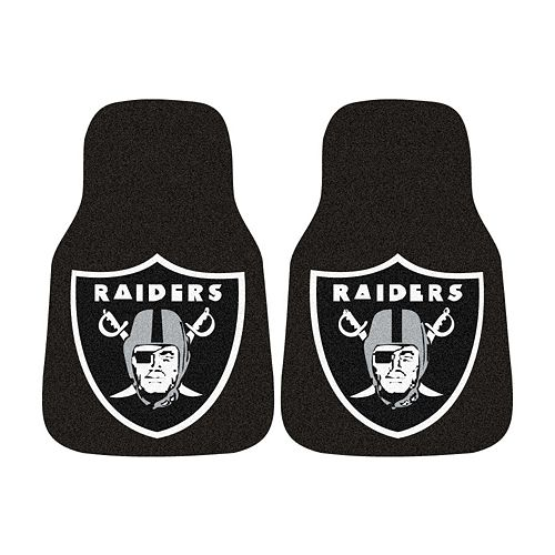 FANMATS® 2-pk. Oakland Raiders Car Floor Mats