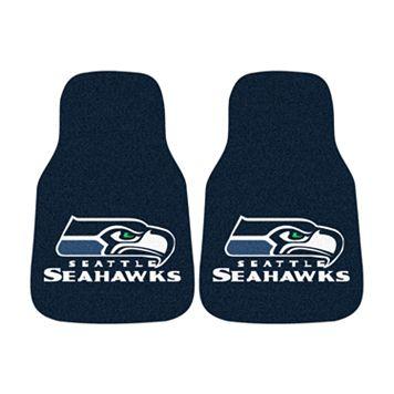 FANMATS® 2-pk. Seattle Seahawks Car Floor Mats