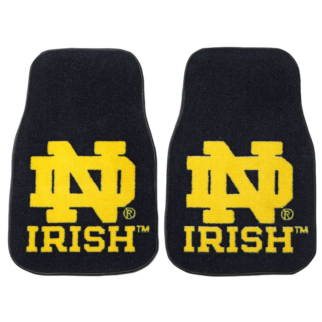 FANMATS® 2-pk. Notre Dame Fighting Irish Floor Mats