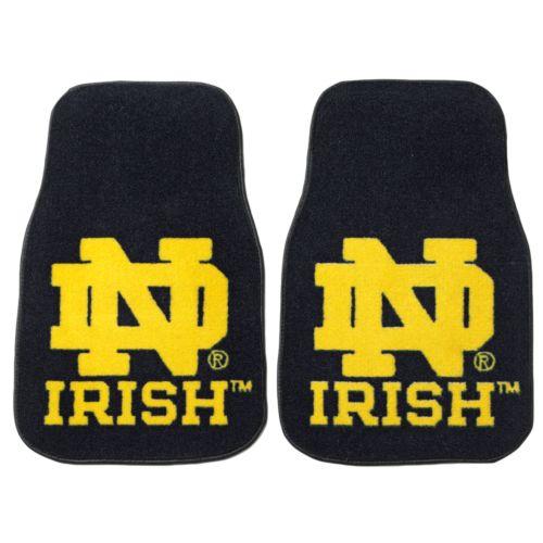 FANMATS 2-pk. Notre Dame Fighting Irish Floor Mats