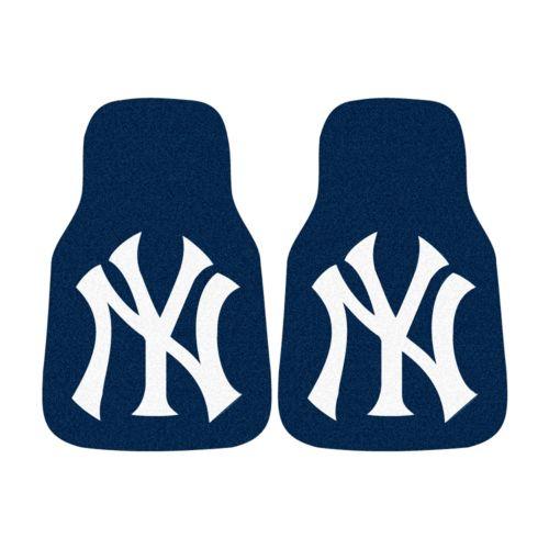 FANMATS 2-pk. New York Yankees Car Floor Mats
