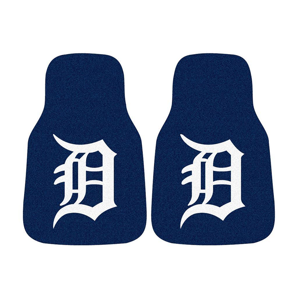 FANMATS® 2-pk. Detroit Tigers Car Floor Mats