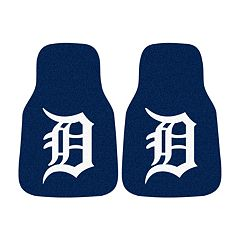 FANMATS® 2-pk. Detroit Tigers Car Floor Mats