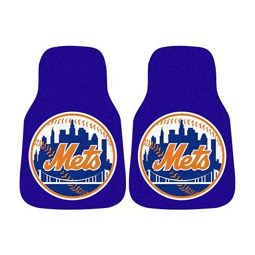 FANMATS® 2-pk. New York Mets Car Floor Mats