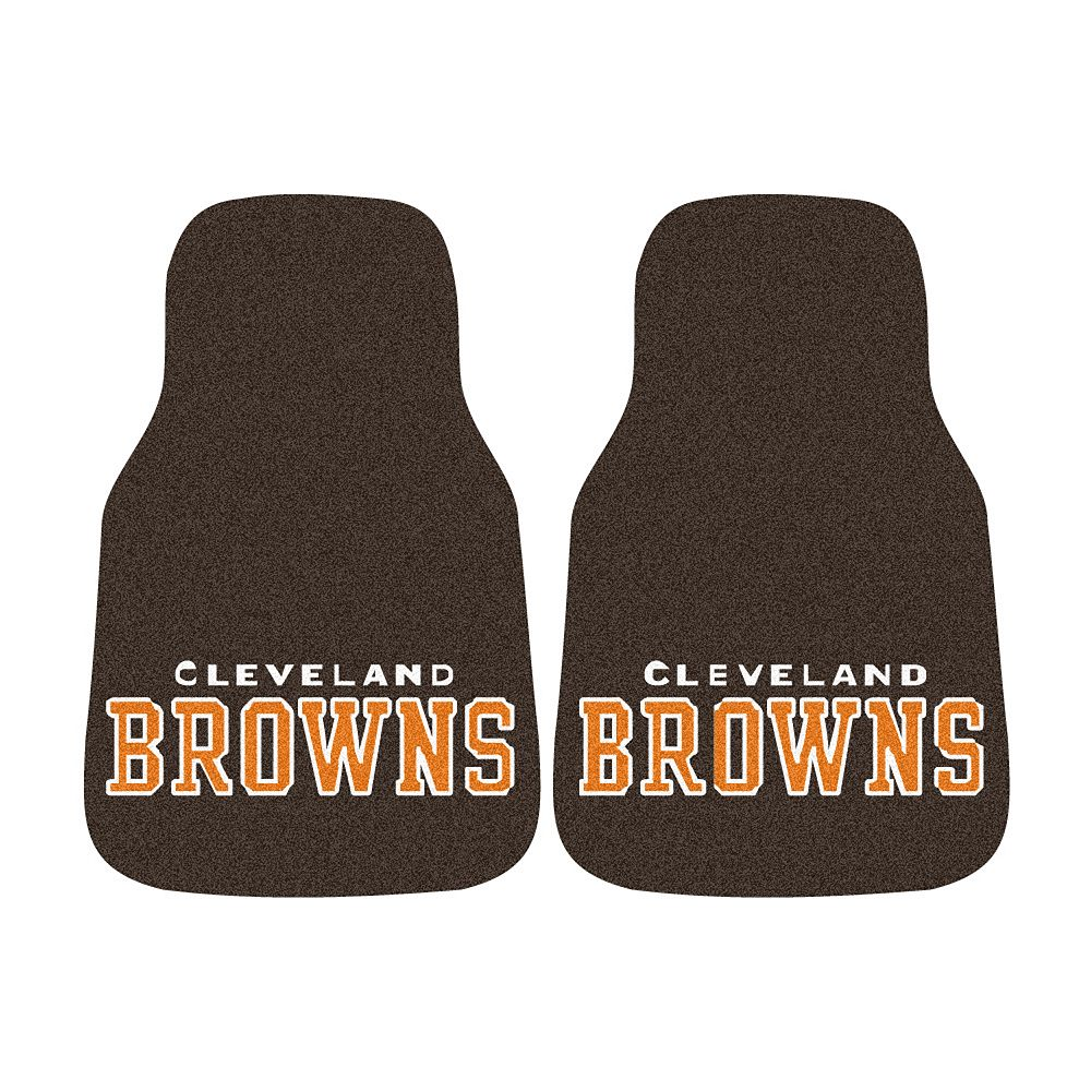FANMATS® 2-pk. Cleveland Browns Car Floor Mats