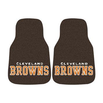 FANMATS® 2-pk. Cleveland Browns Car Floor Mats