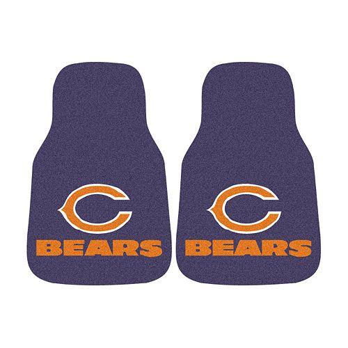 FANMATS® 2-pk. Chicago Bears Car Floor Mats