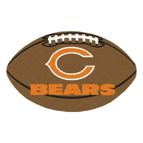 FANMATS Chicago Bears Football Rug