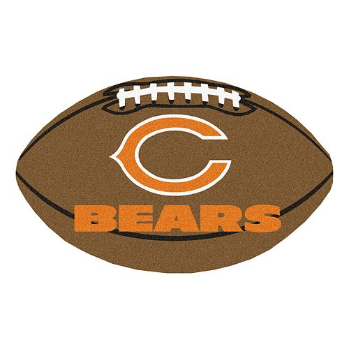 FANMATS Chicago Bears Football Rug