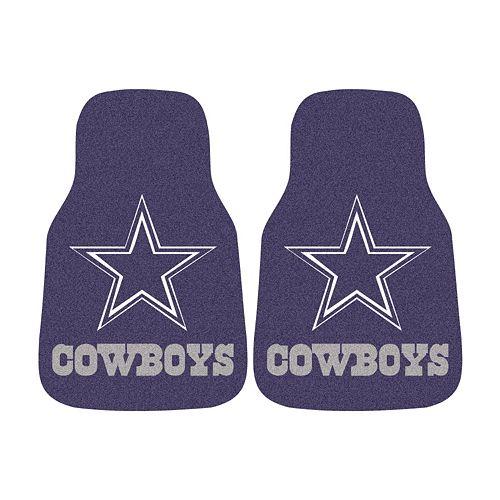 FANMATS® 2-pk. Dallas Cowboys Car Floor Mats