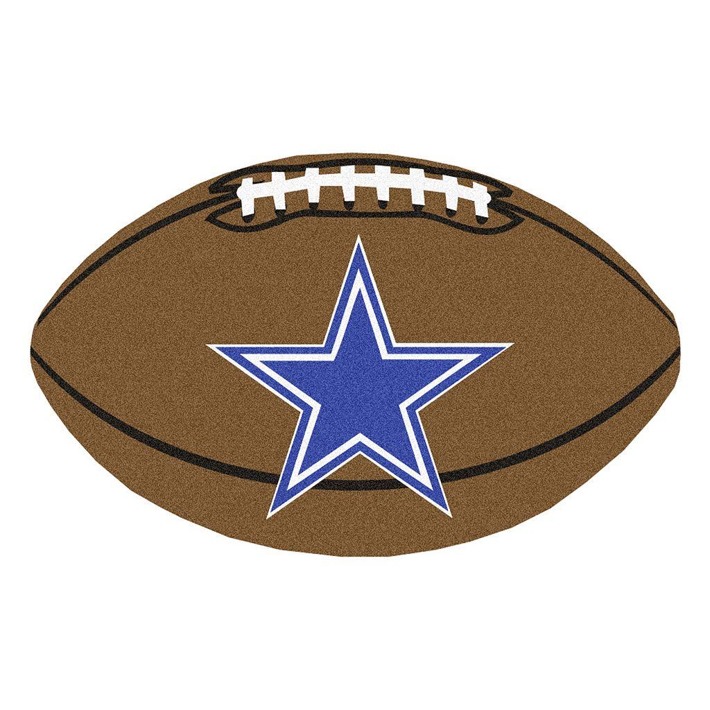 FANMATS Dallas Cowboys Football Rug