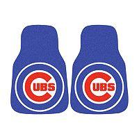 FANMATS® 2-pk. Chicago Cubs Car Floor Mats