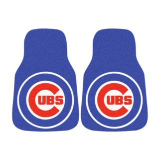 FANMATS 2-pk. Chicago Cubs Car Floor Mats