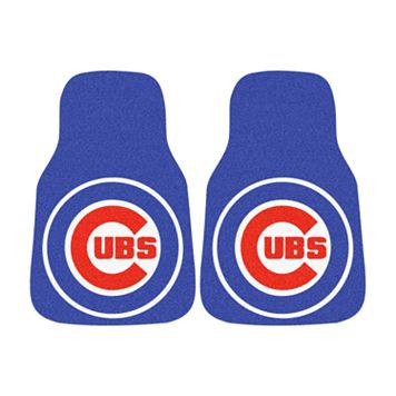 FANMATS® 2-pk. Chicago Cubs Car Floor Mats