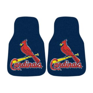 FANMATS 2-pk. St. Louis Cardinals Car Floor Mats