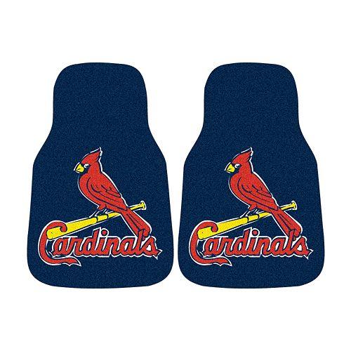 FANMATS® 2-pk. St. Louis Cardinals Car Floor