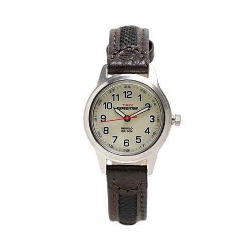 Timex Expedition Women's Leather Watch - T41181