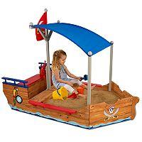 KidKraft Pirate Sandbox