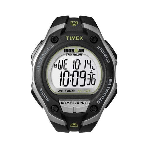Timex Watch - Men's Ironman 30-Lap Oversize Resin Digital Chronograph - T5K412