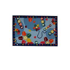 Fun Rugs™ Tootsie Roll® Dots® Rug - 19'' x 29''