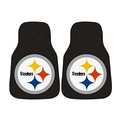 FANMATS® 2-pk. Pittsburgh Steelers Car FloorMats
