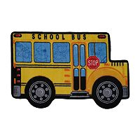 Fun Rugs™ Fun Time School Bus Rug