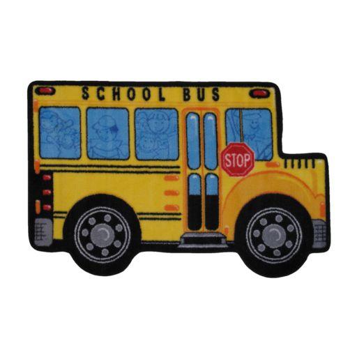 Fun Rugs Fun Time School Bus Rug
