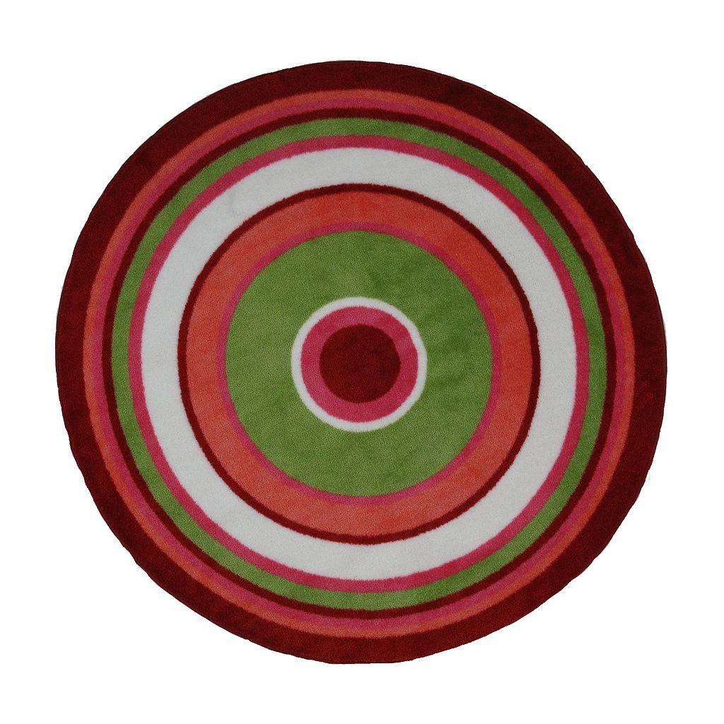 Fun Rugs™ Fun TimeConcentric 3Rug