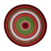 Fun Rugs? Fun TimeConcentric 3Rug