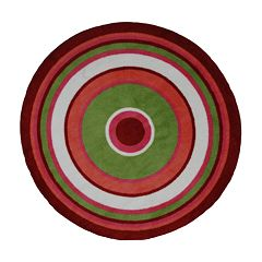 Fun Rugs™ Fun TimeConcentric 3Rug