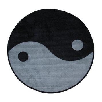 Fun Rugs™ Fun Time Yin-Yang Rug