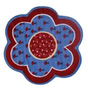 Fun Rugs Fun Time Bandana Flower Rug