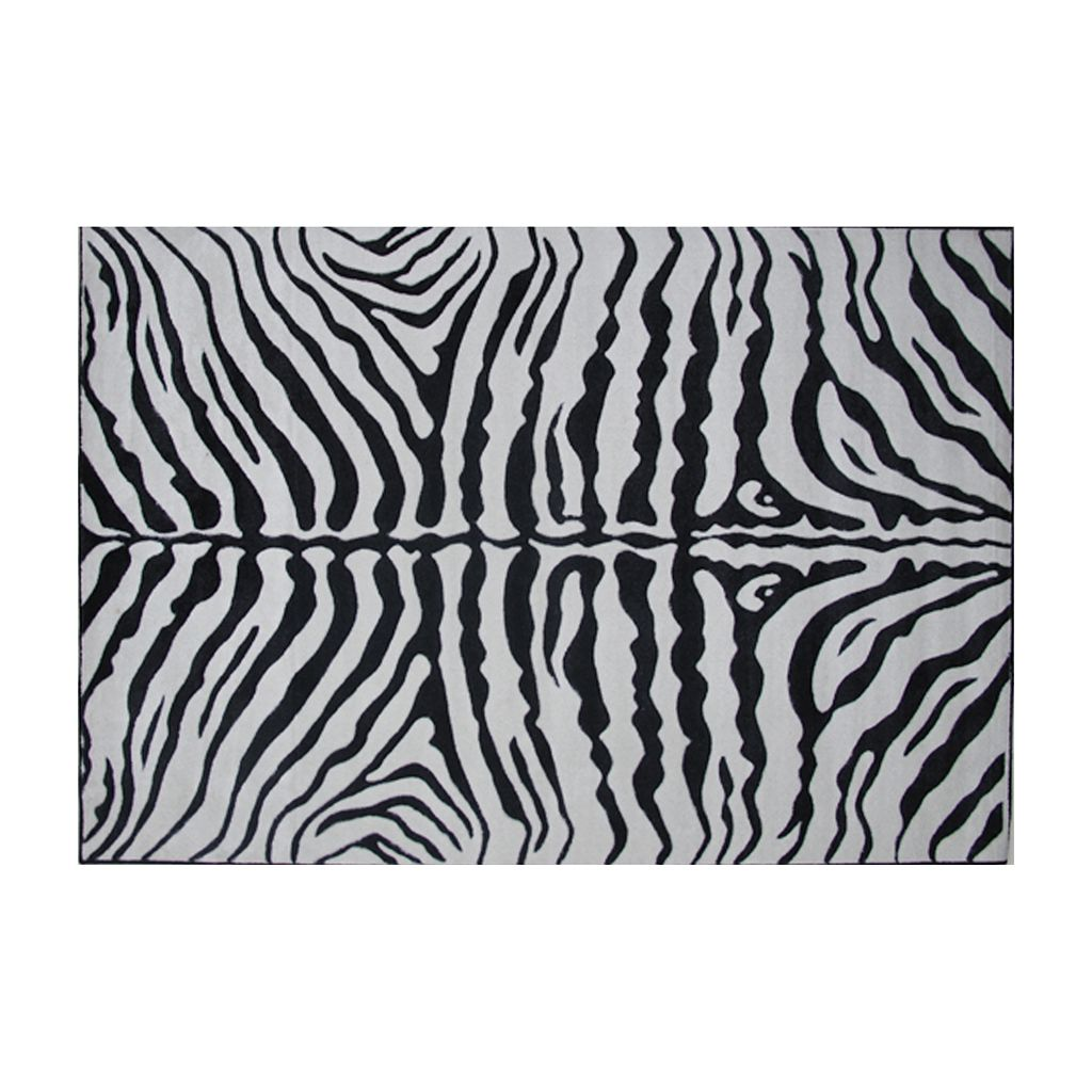 Fun Rugs™ Supreme Zebra Rug