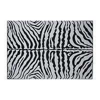 Fun Rugs™ Supreme Zebra Rug