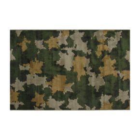 Fun Rugs Supreme Camouflage Rug - 3'3'' x 4'10''