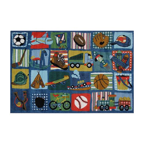 Fun Rugs™ Supreme Funky Quilt Rug