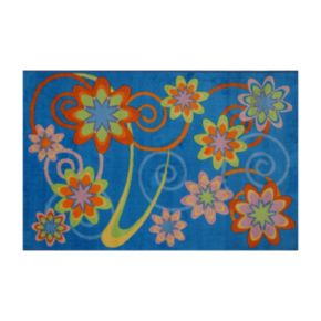 Fun Rugs Supreme Flower Burst Rug