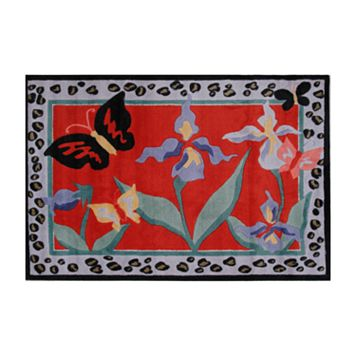 Fun Rugs™ Jade Reynolds Irises Rug