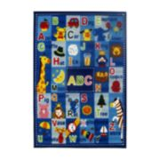 Fun Rugs Fun Time Letters & Names Rug