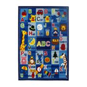 Fun Rugs Fun Time Letters and Names Rug