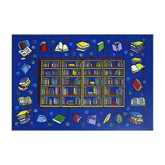 Fun Rugs™ Fun Time Reading Time Rug - 19'' x 29''