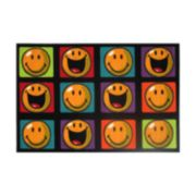 Fun Rugs™ Smiley World Happy & Smiling Rug