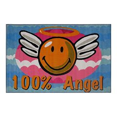Fun Rugs™ Smiley World Smiley Angel Rug