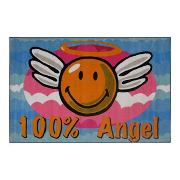 Fun Rugs™ Smiley World Smiley Angel Rug - 19'' x 29''