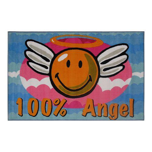 Fun Rugs™ Smiley World Smiley Angel Rug