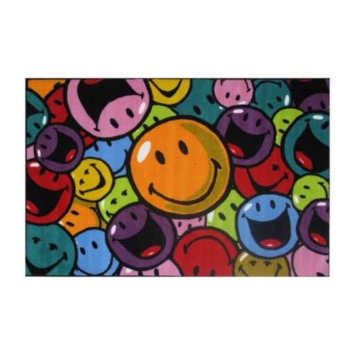 Fun Rugs Smiley World Smiles and Laughs Rug