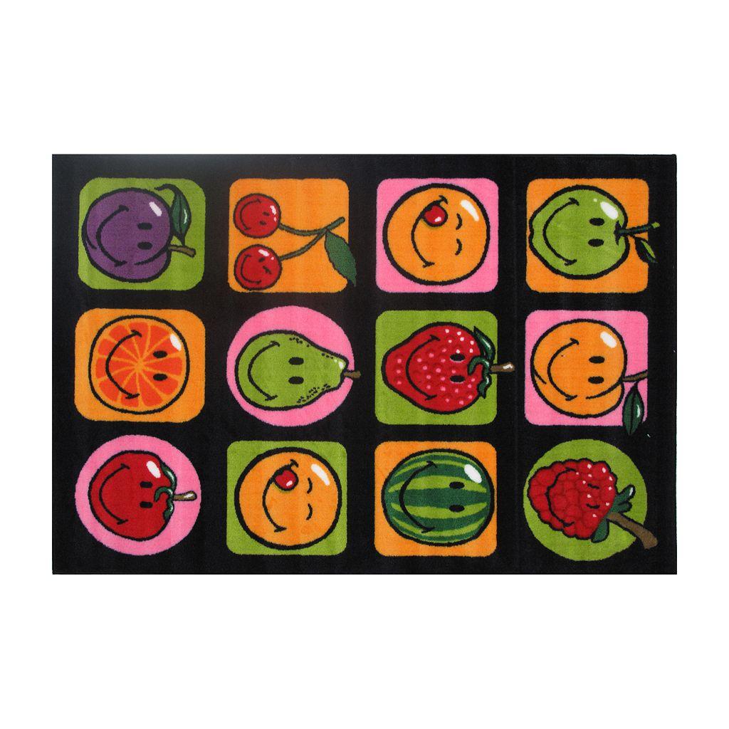 Fun Rugs™ Smiley World Fruitti Rug - 19'' x 29''