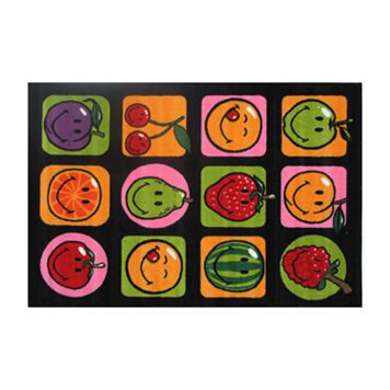 Fun Rugs™ Smiley World Fruitti Rug - 19'' x 29''