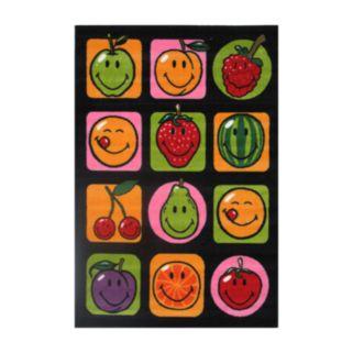 Fun Rugs Smiley World Fruitti Rug - 3'3'' x 4'10''